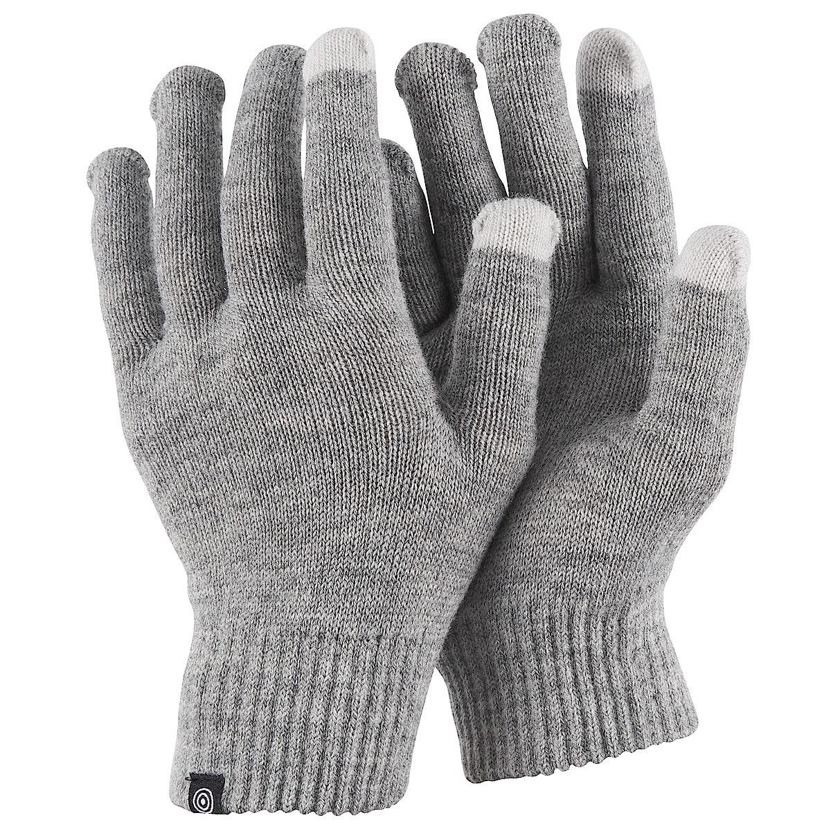 Fingervantar med touch grå