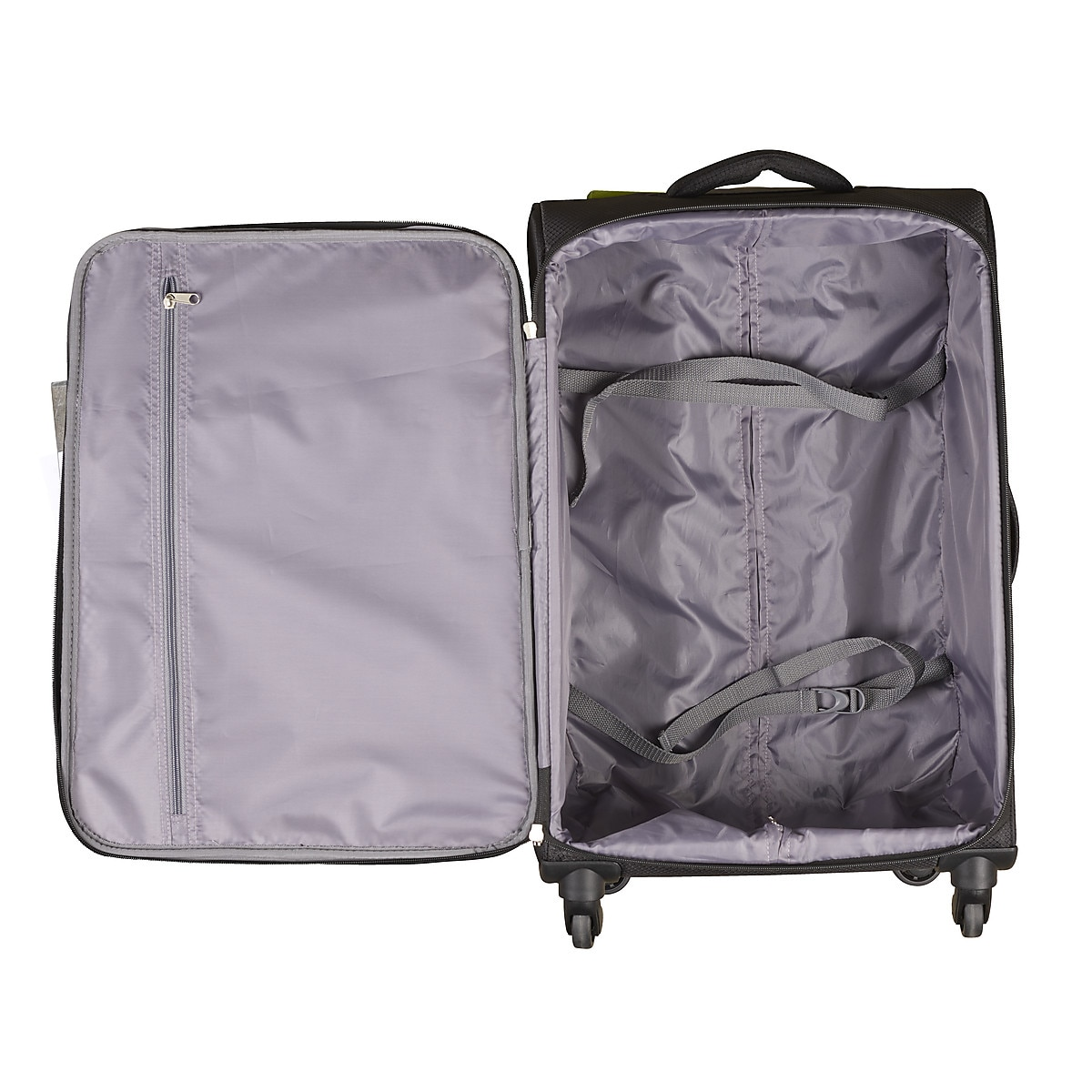 Asaklitt Lightweight Black Trolley Case