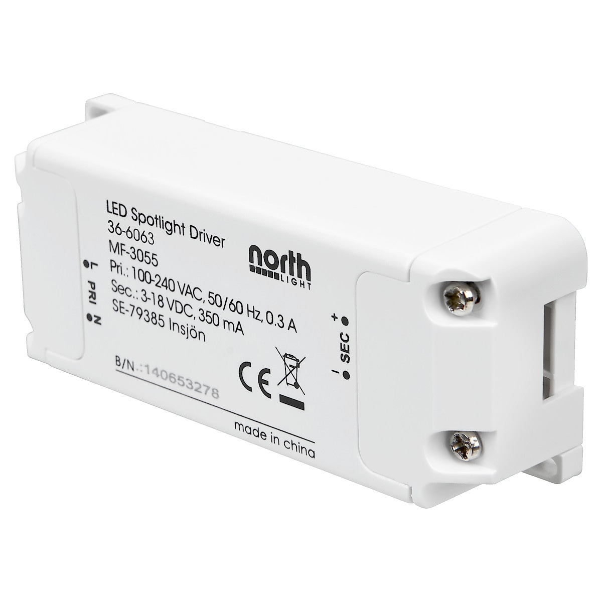 LED-Vorschaltgerät Northlight