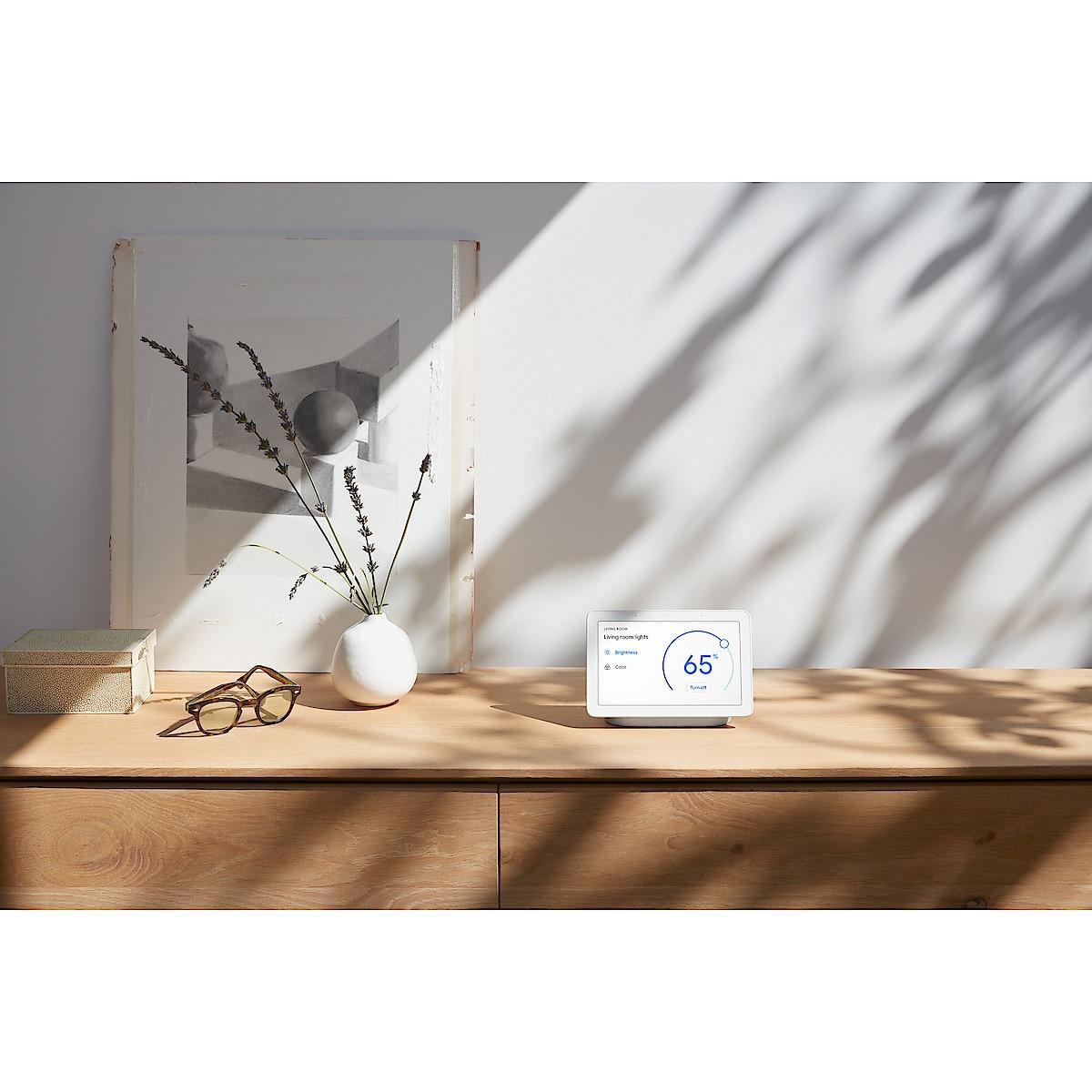 Google Nest Hub, stemmestyring
