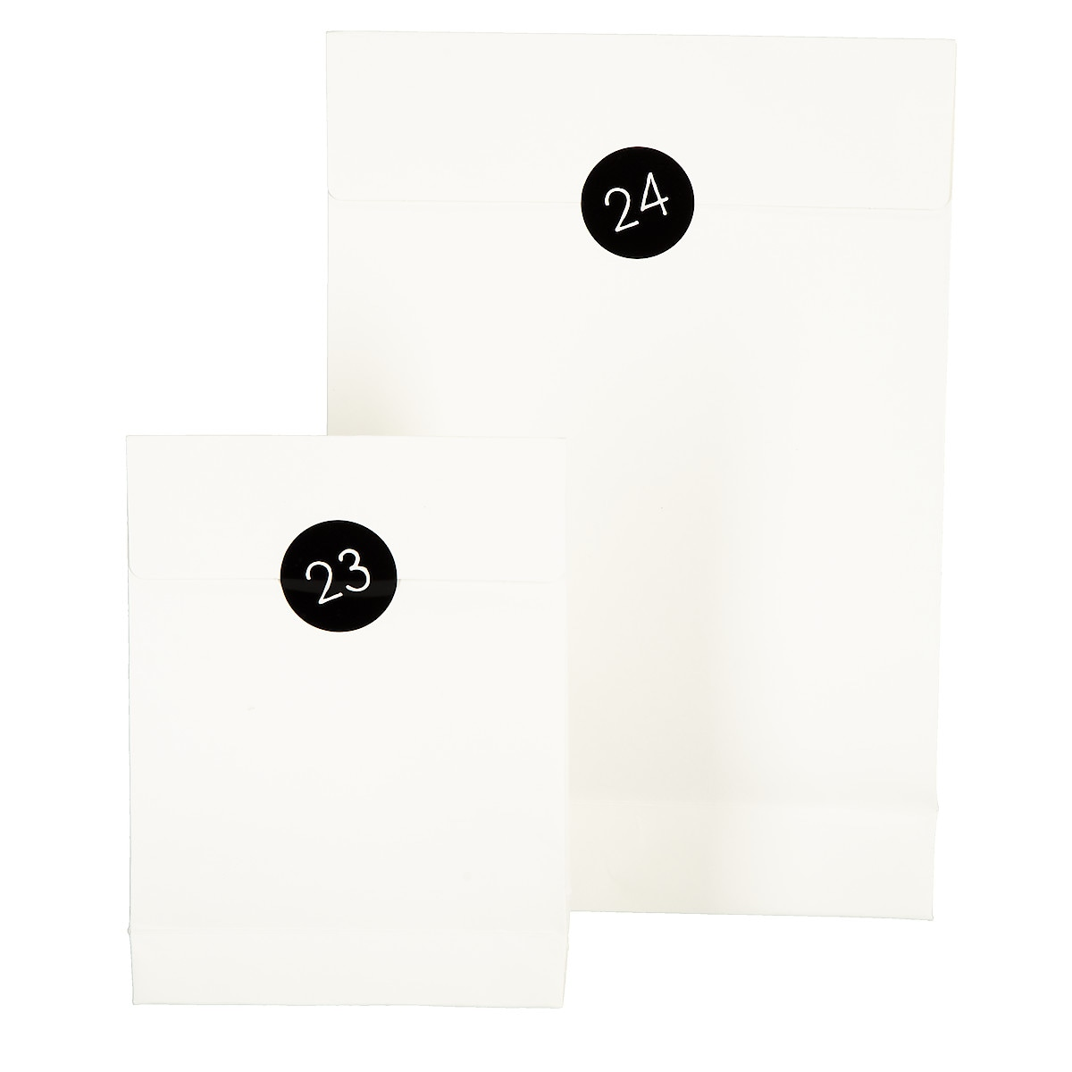 Lahjapussit 24 kpl valkoinen