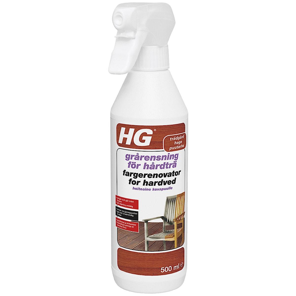 Rengöringsmedel för trädgårdsmöbler i trä HG