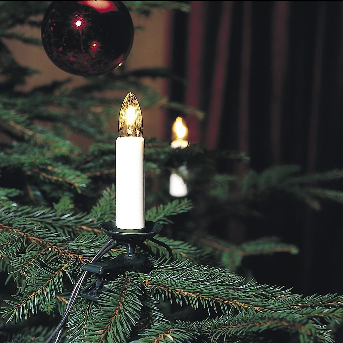 Juletrebelysning
