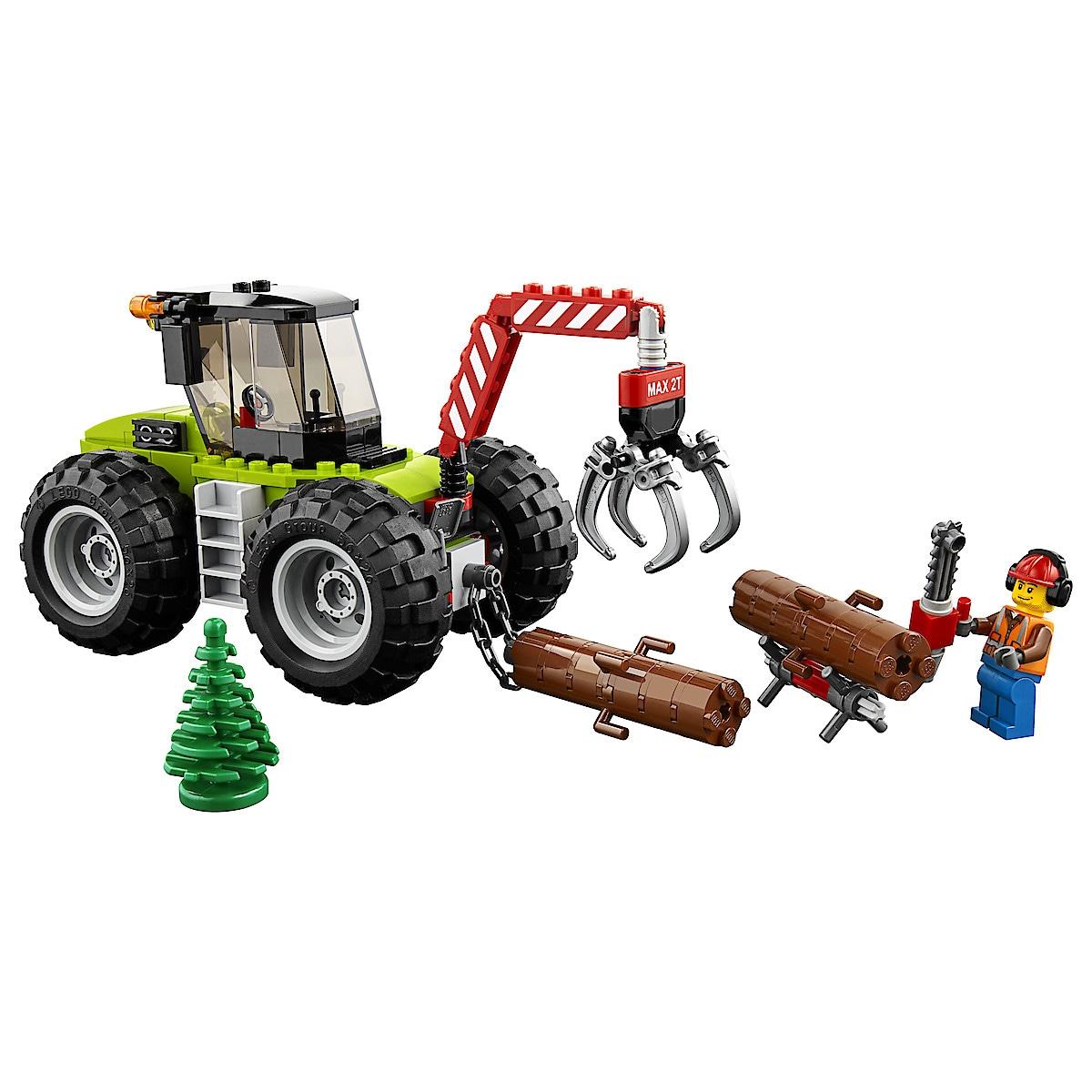 LEGO City Great Vehicles 60181, skogstraktor