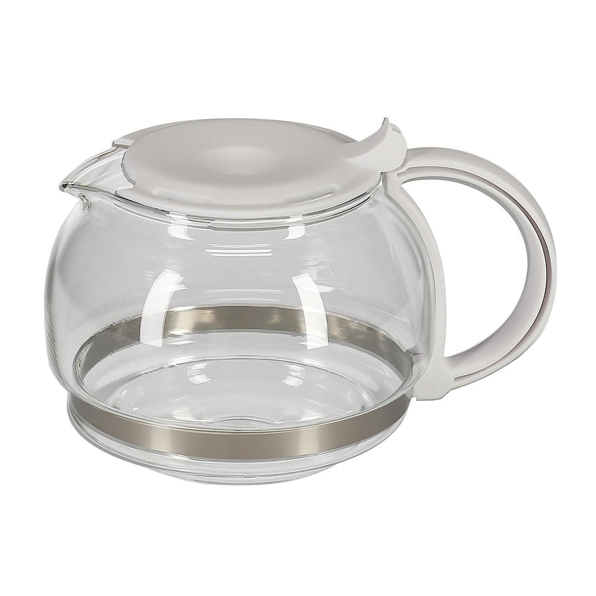 Glass jug CM2022L White