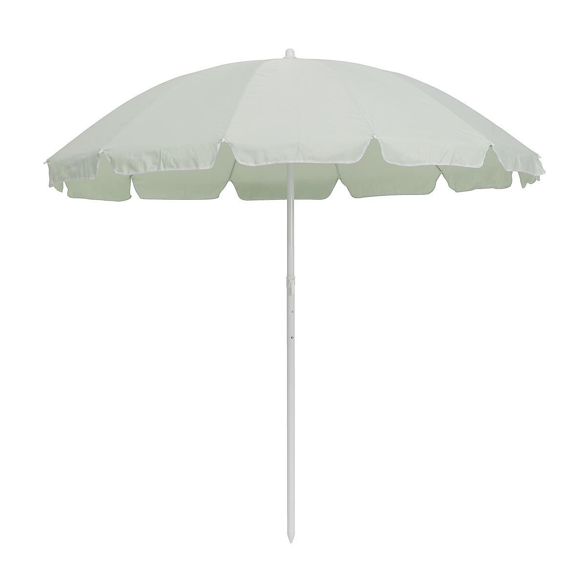 Strandparasoll Ø 185 cm, grön | Clas Ohlson