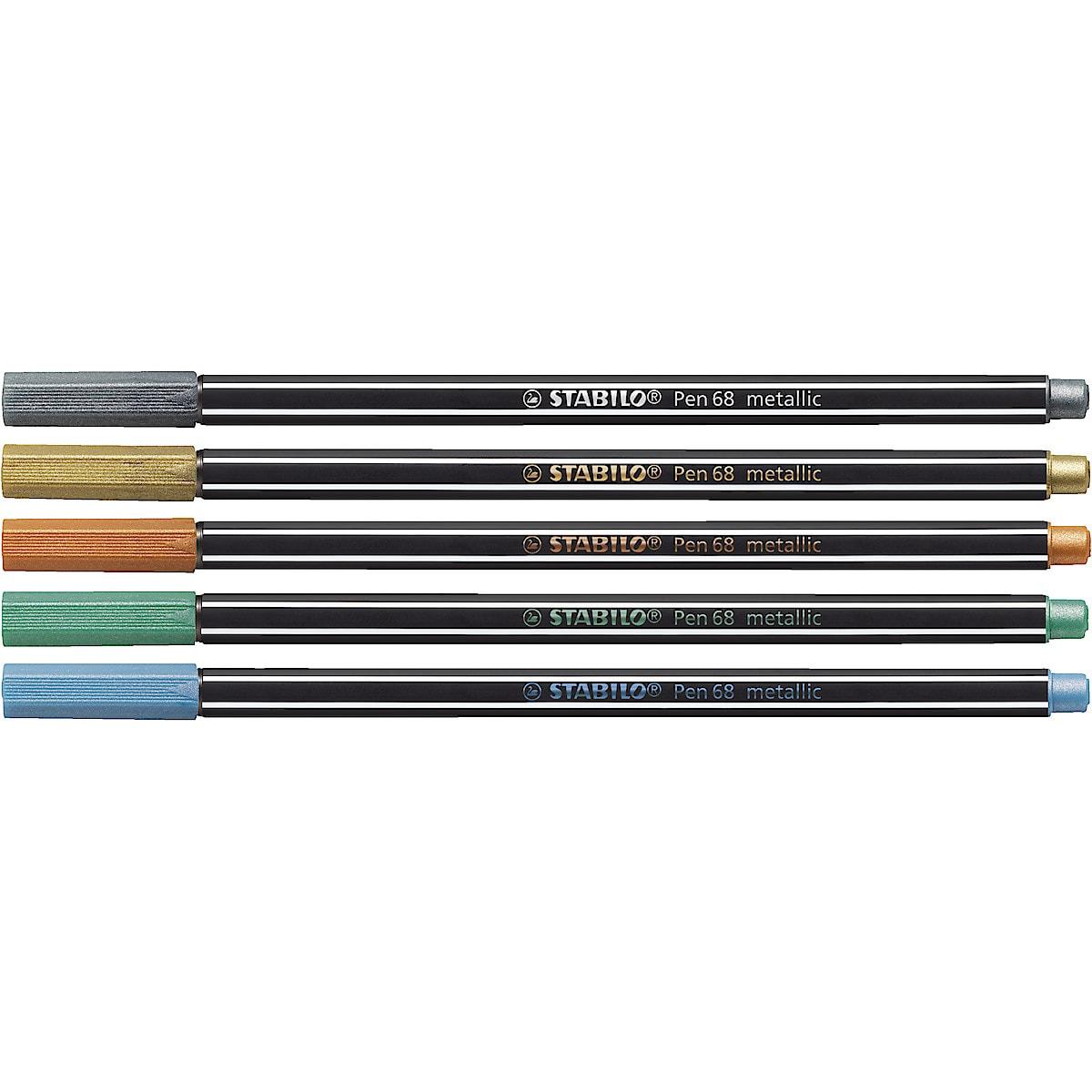 Stabilo Pen 68 Metal tusjpenner