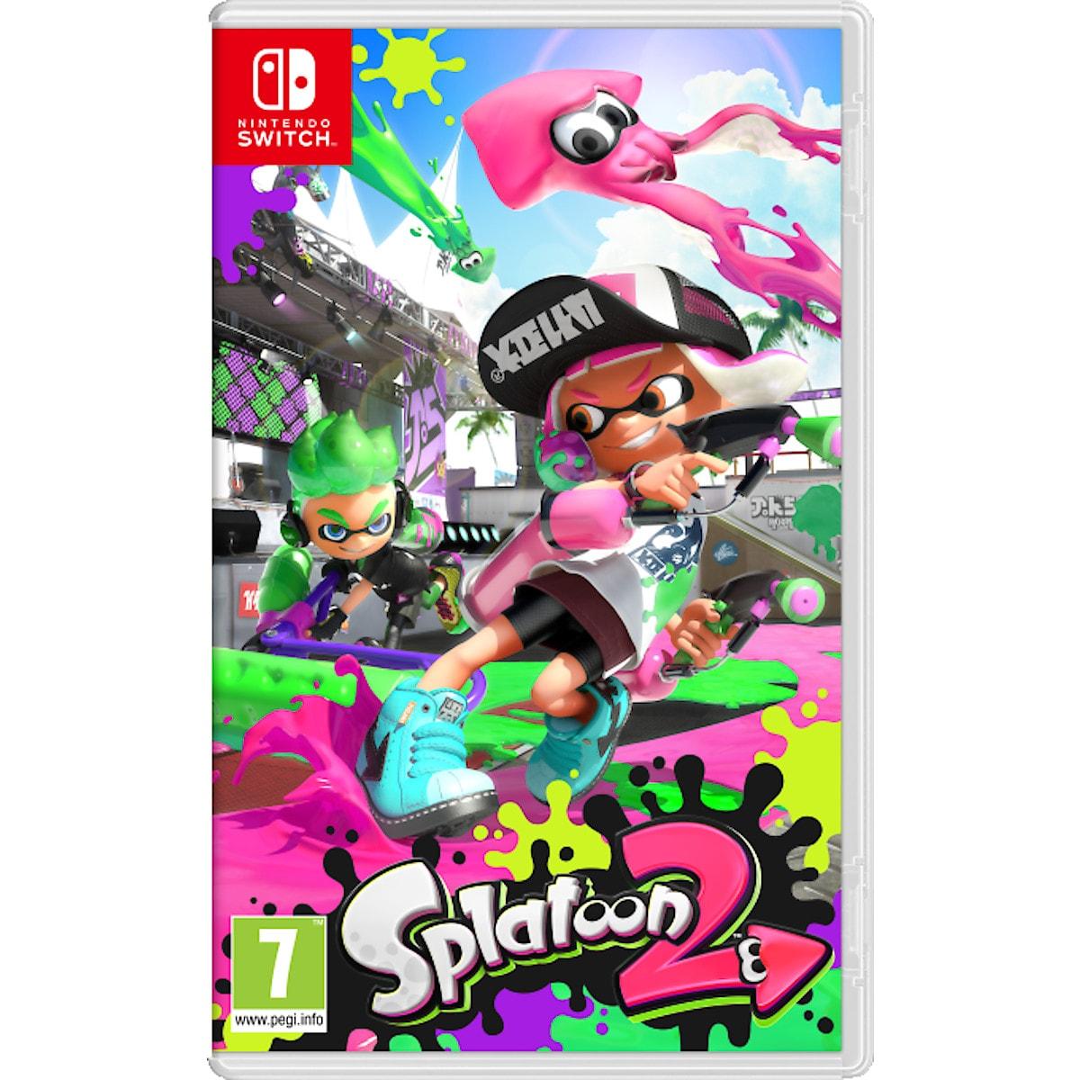 Splatoon 2 spel till Nintendo Switch