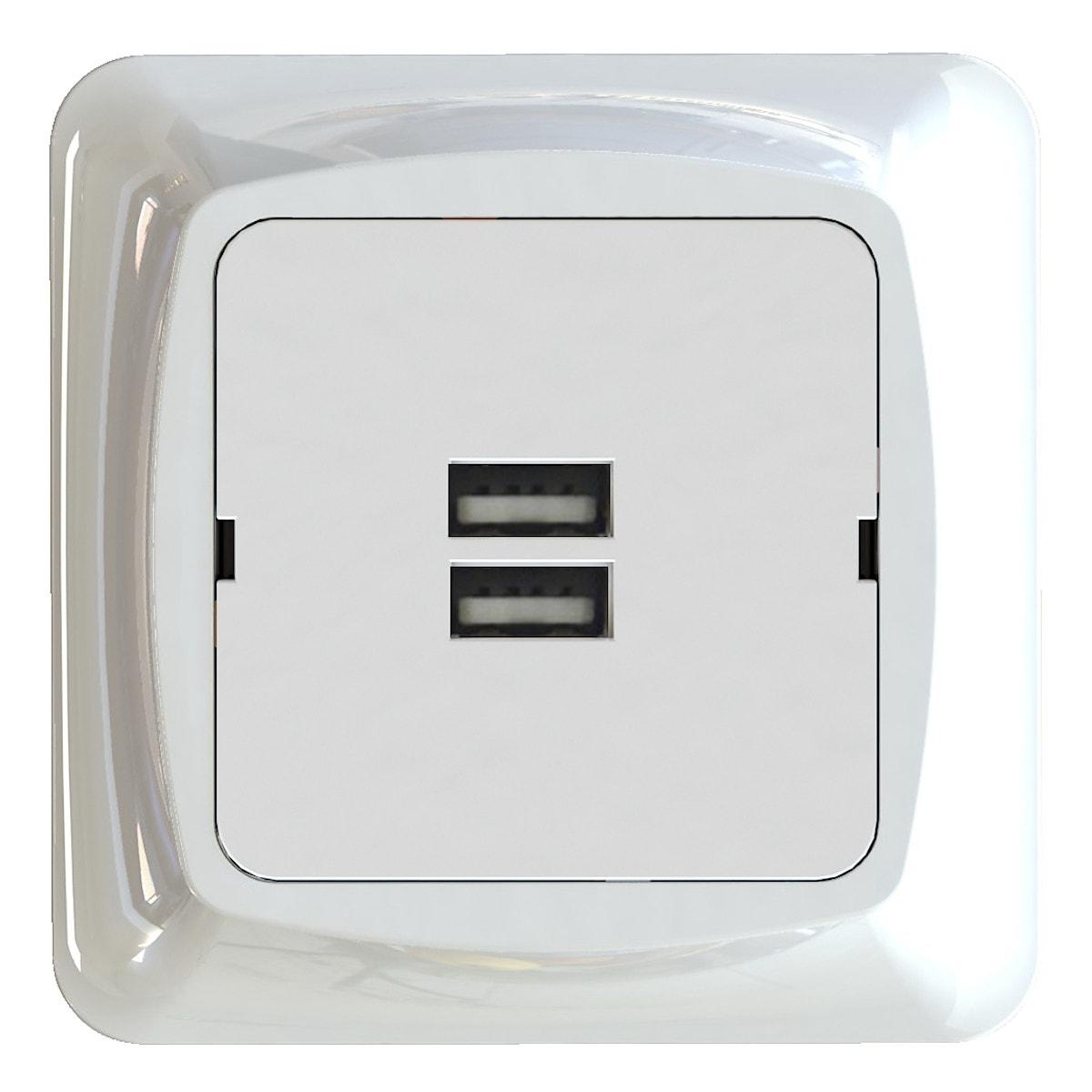 USB-uttak for innfelling