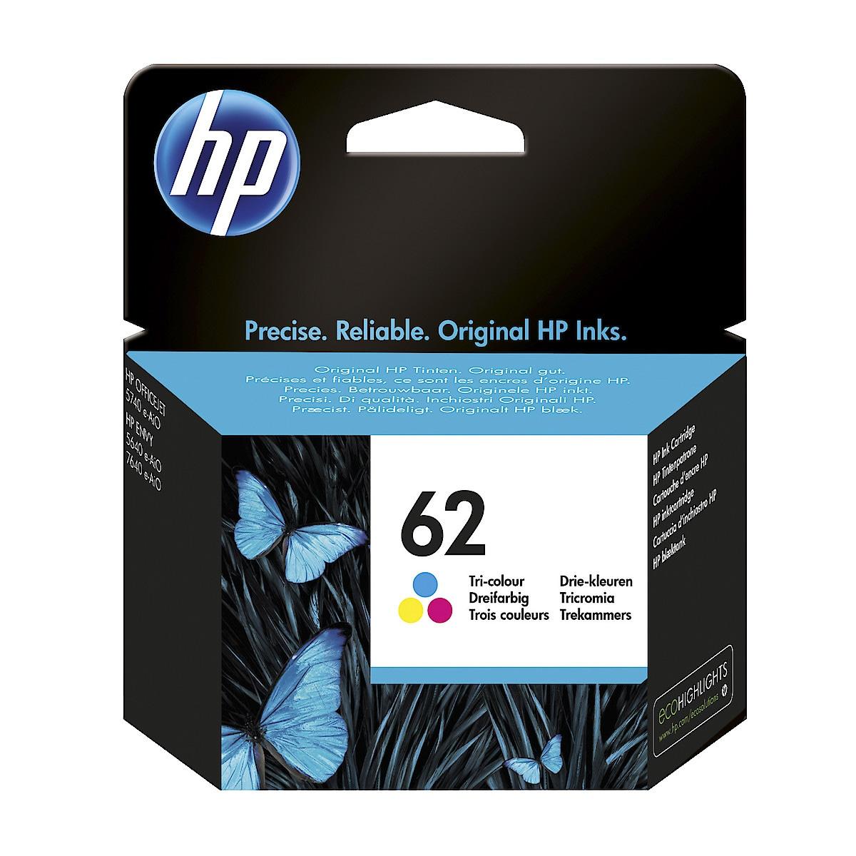 HP 62 blekkpatron