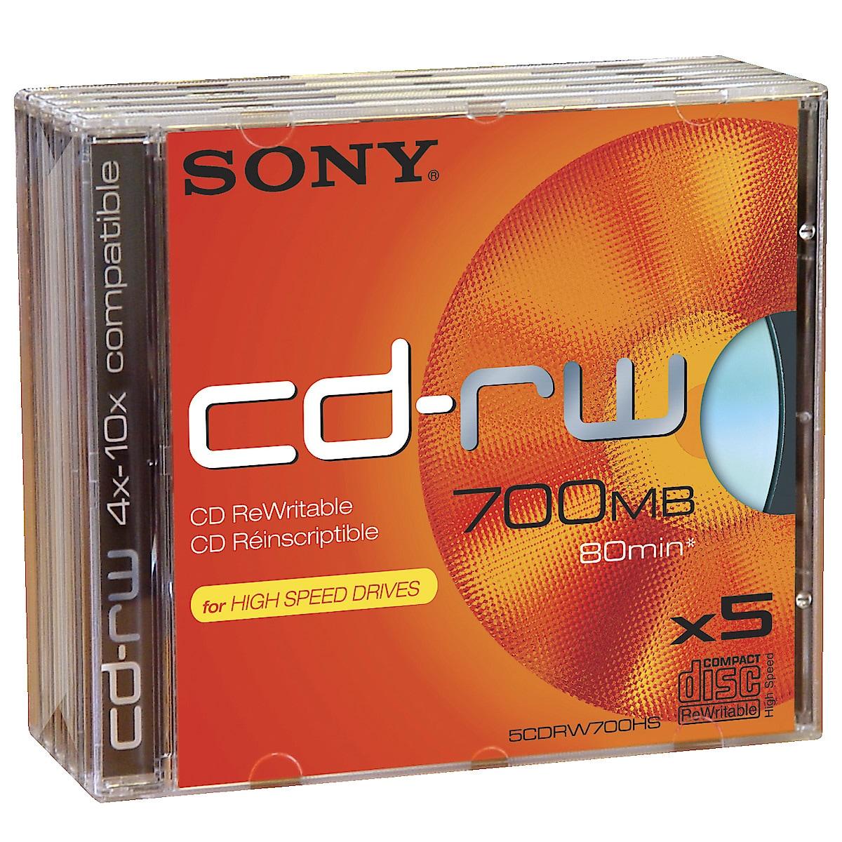 CD-RW, 80 min