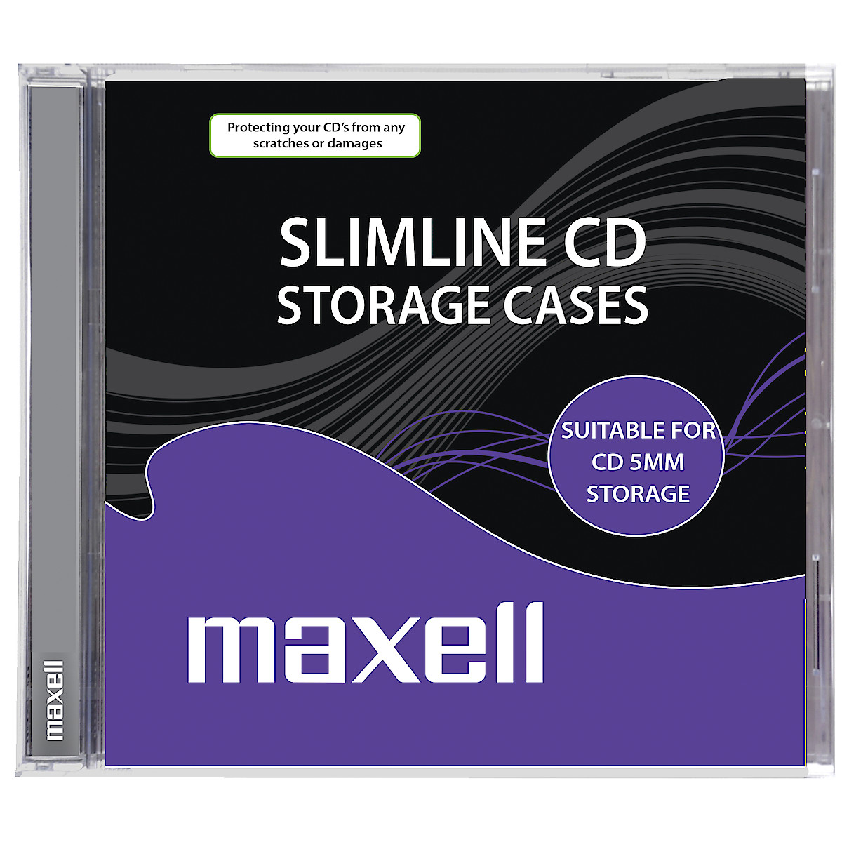 CD-fodral Maxell Slimcase 10-pack
