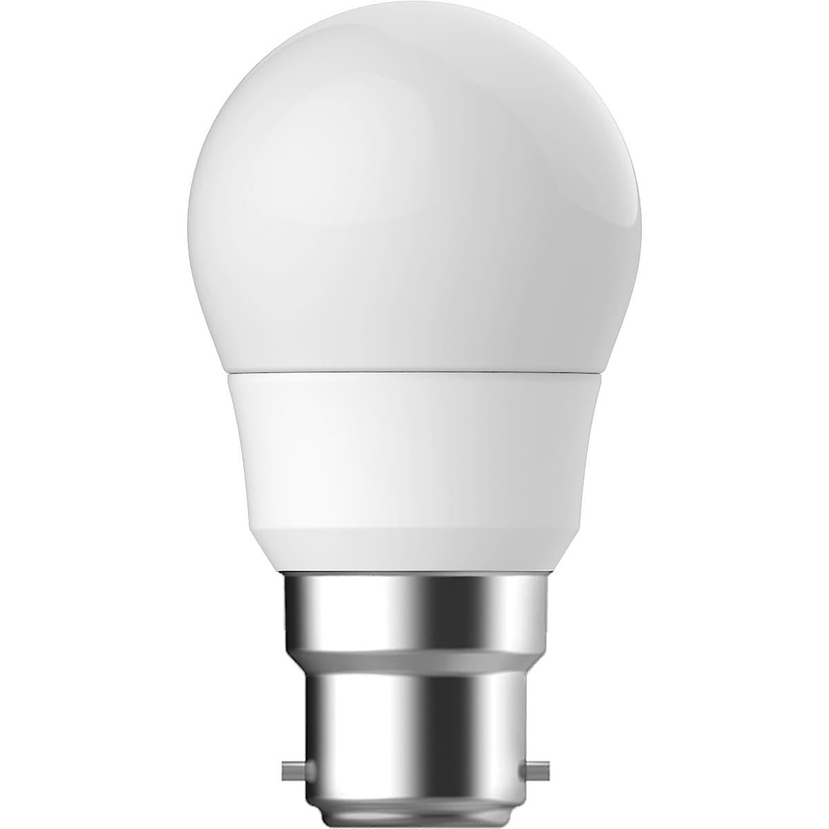 Northlight B22 LED Golf Ball Bulb Cool White