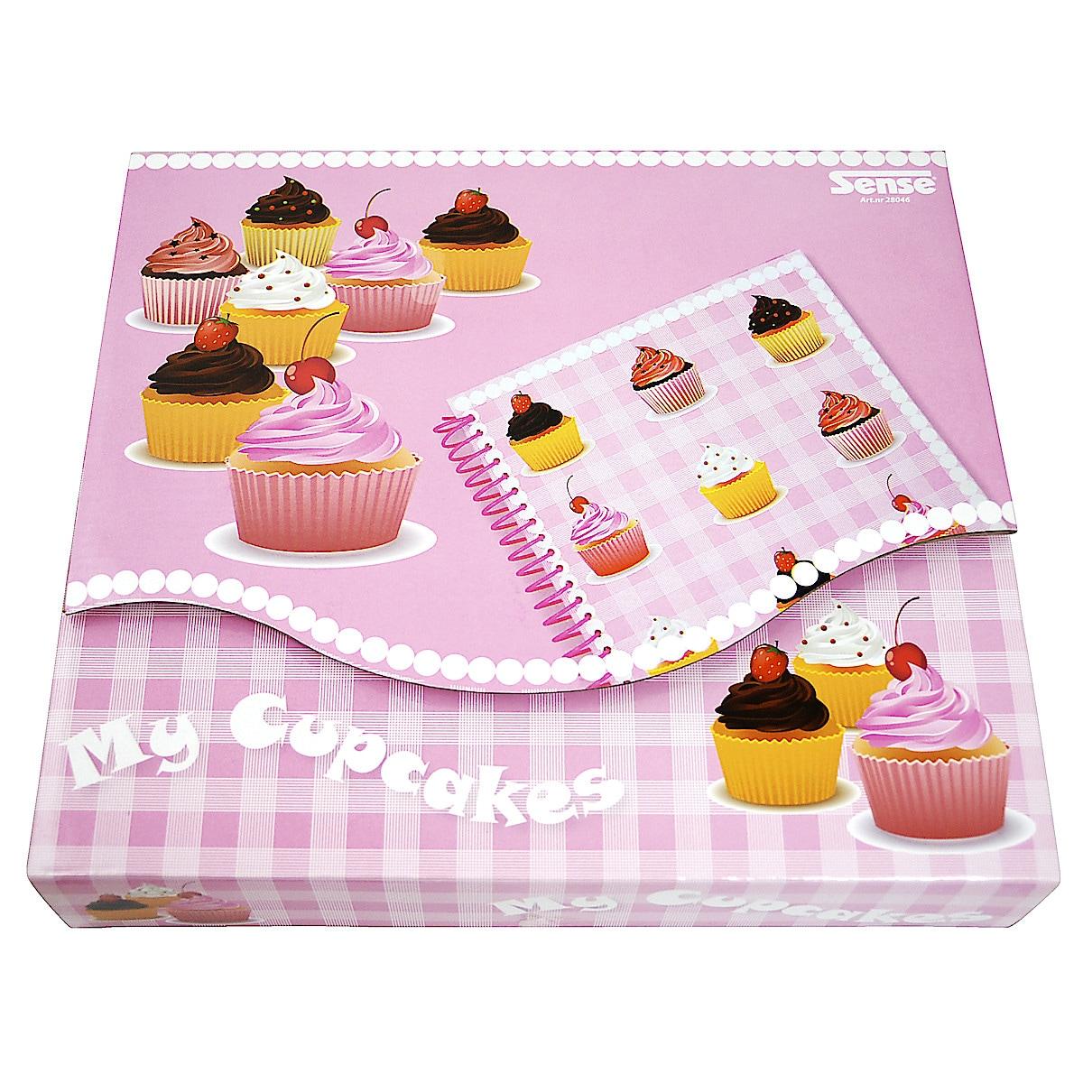 Scrapbook Cupcake