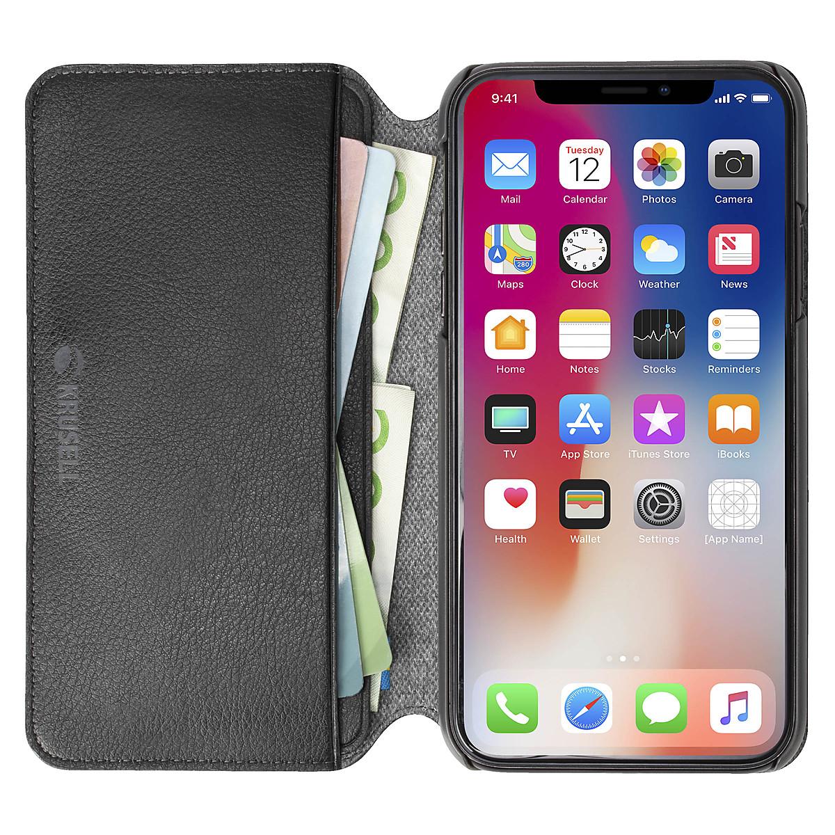 Plånboksfodral för iPhone XR, Krusell Pixbo SlimWallet