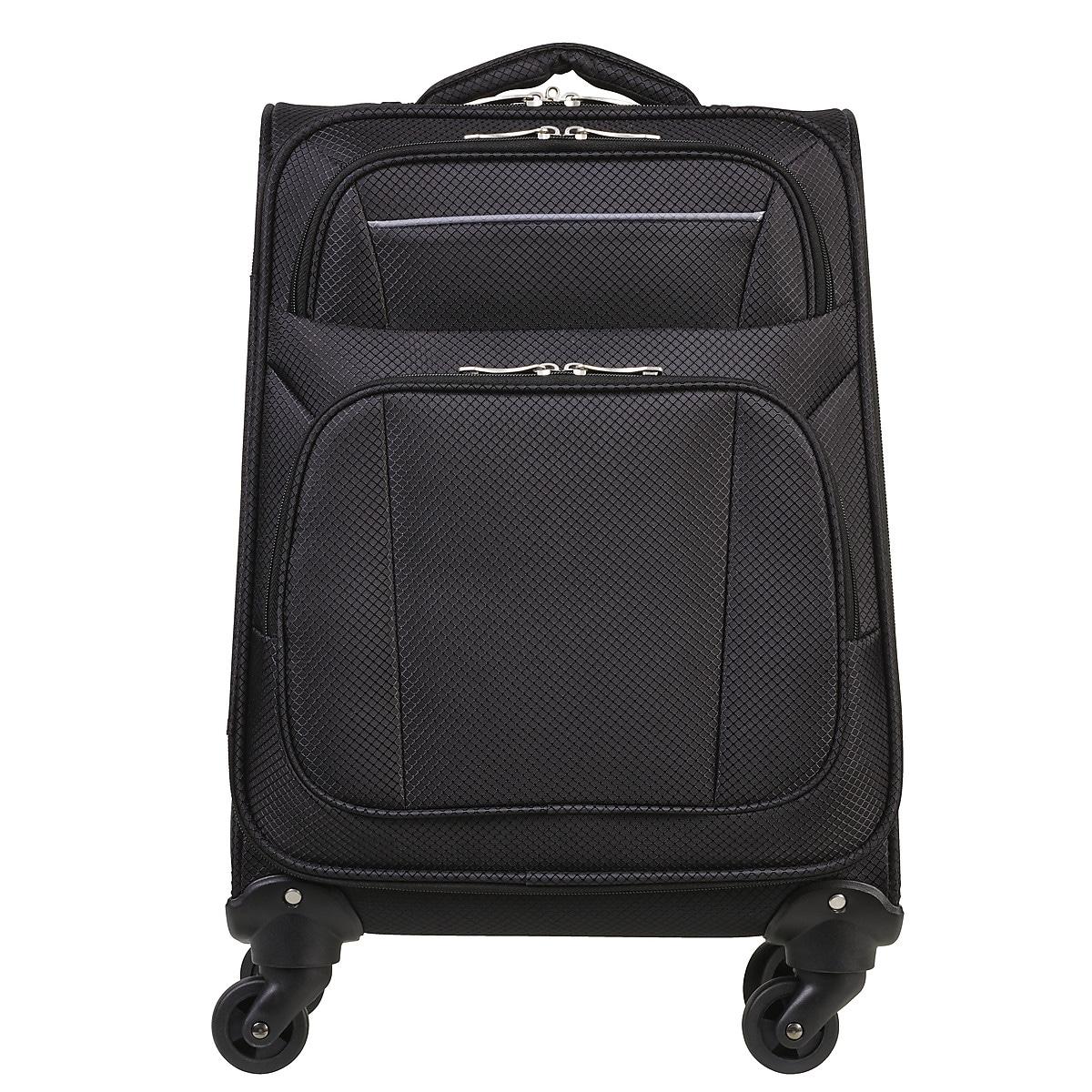 Resväska Asaklitt Lightweight svart