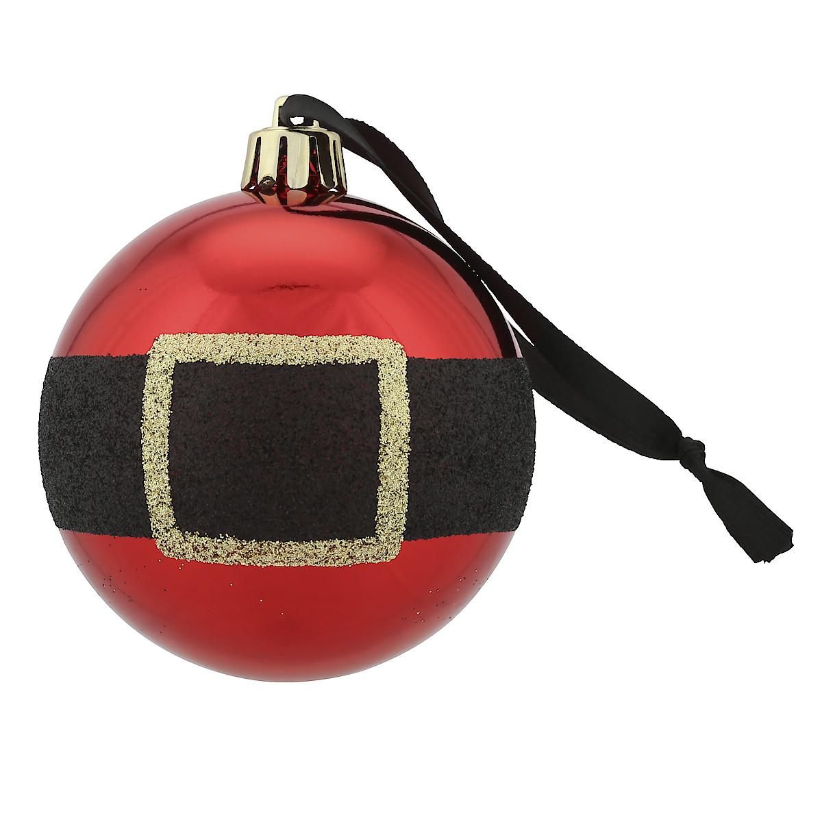 Santa's Belt Christmas Baubles