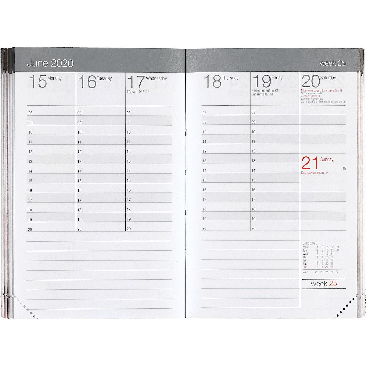 Lommekalender 2019/2020, blå