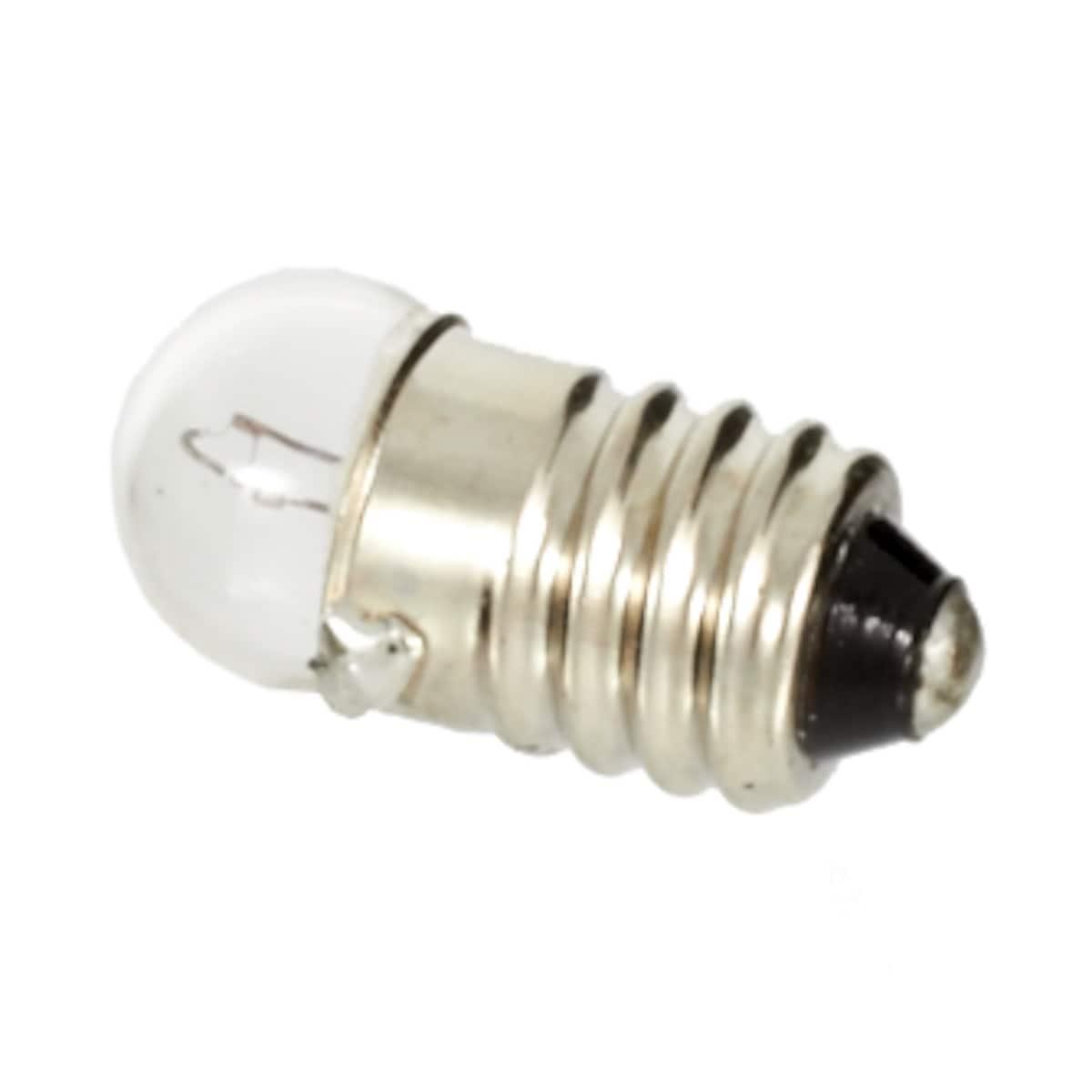 Glødelampe 4,8 V/0,5 A E10
