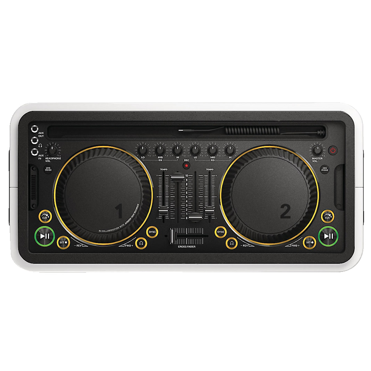DJ-System für iPhone/iPad Philips M1X-DJ