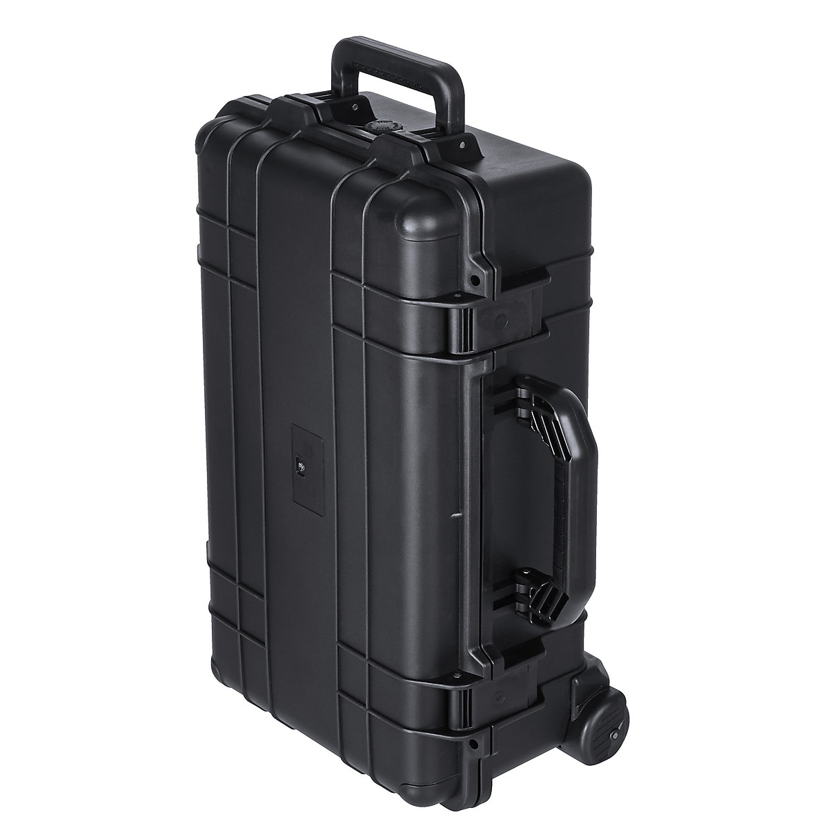 Koffert med hjul og telskophåndtak