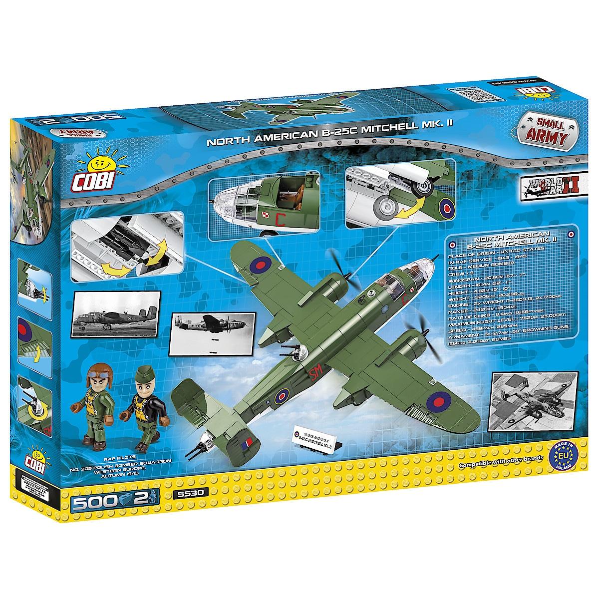 Rakennussarja Cobi, North American B-25C Mitchell MK. II
