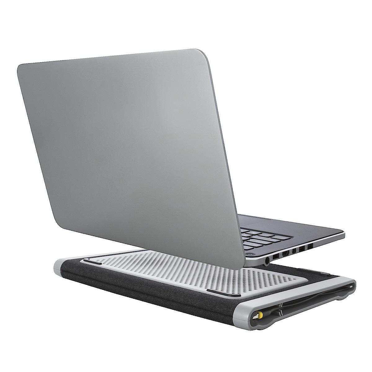 Laptopställ med fläktkylning, Targus Dual Fan Chill Mat