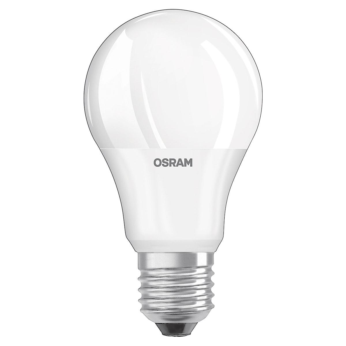LED-lampa med skymningsrelä E27 Osram