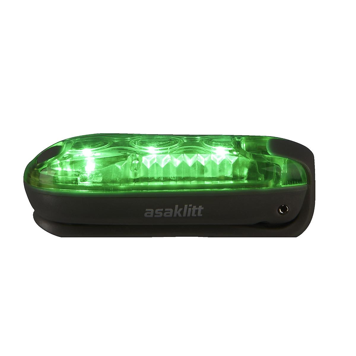 LED-Lampe mit Federklemme, Asaklitt
