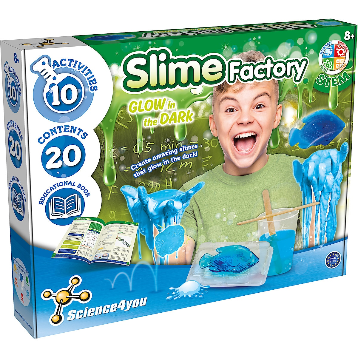Slime Factory Glow in the Dark Science4you