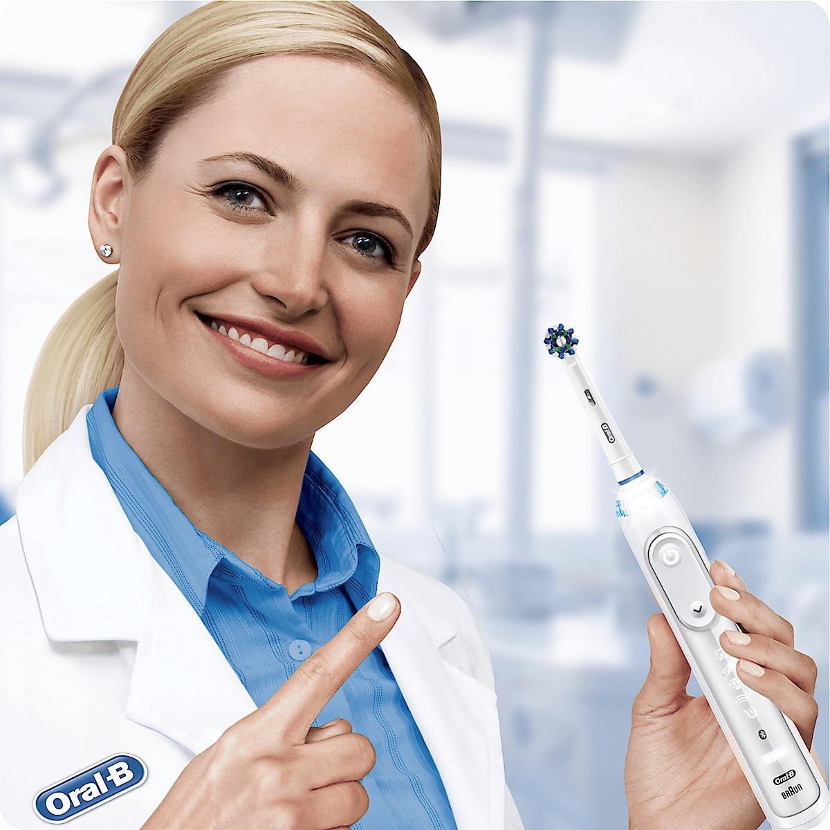 Oral-B Genius 10200S White, eltannbørste