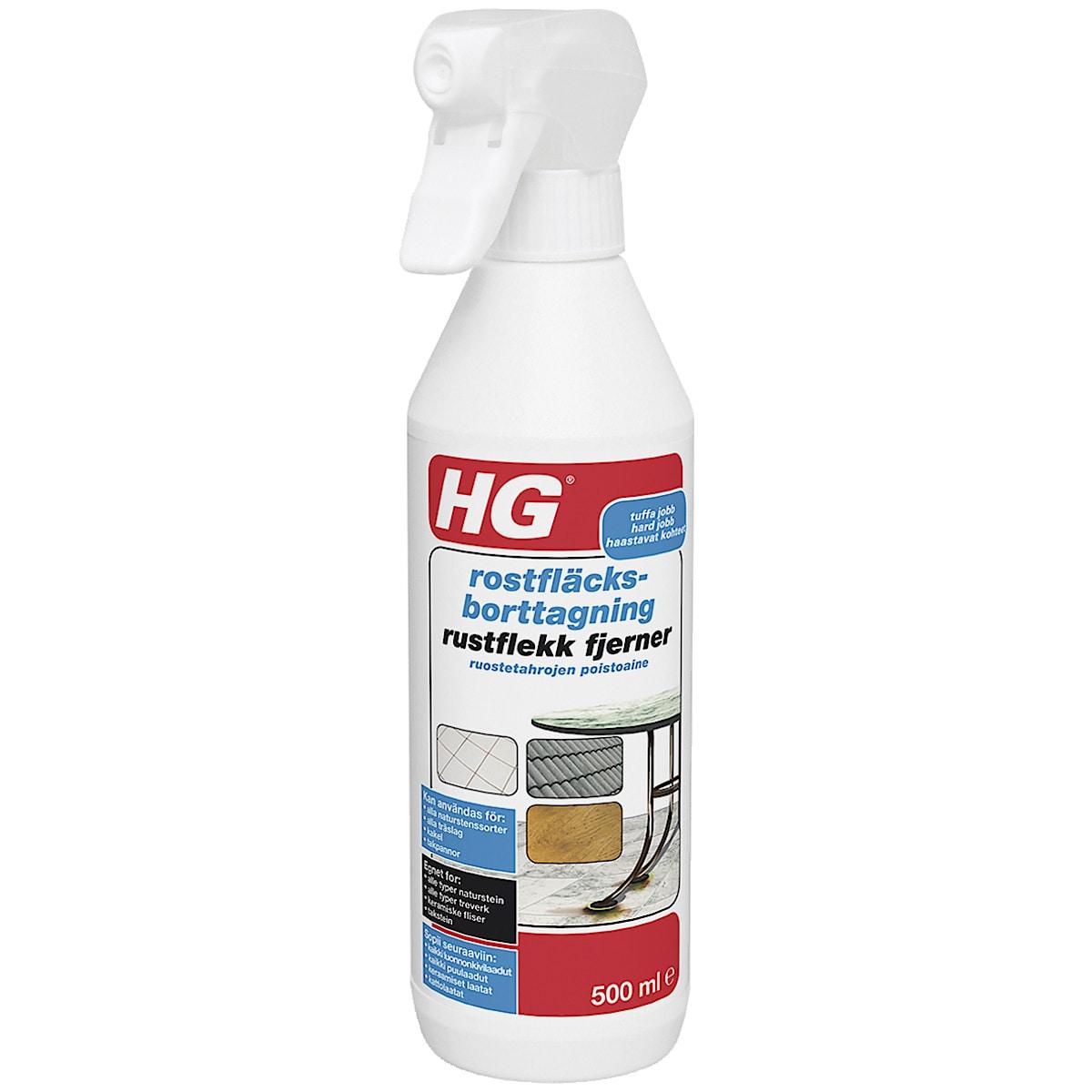 Rostfläcksborttagning HG