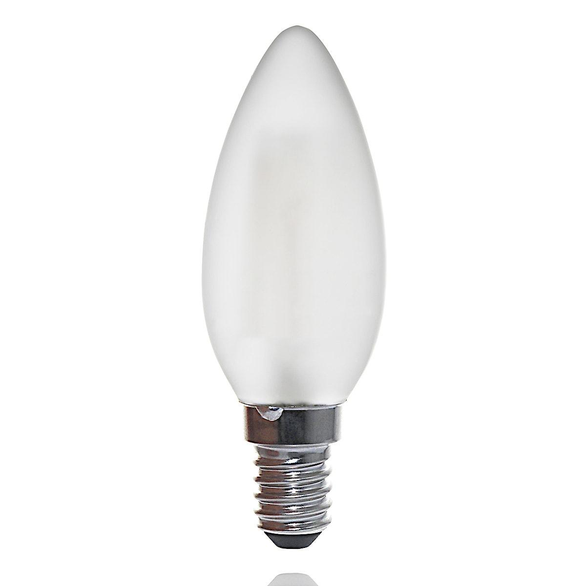 Dimbar kronljuslampa LED E14 Clas Ohlson