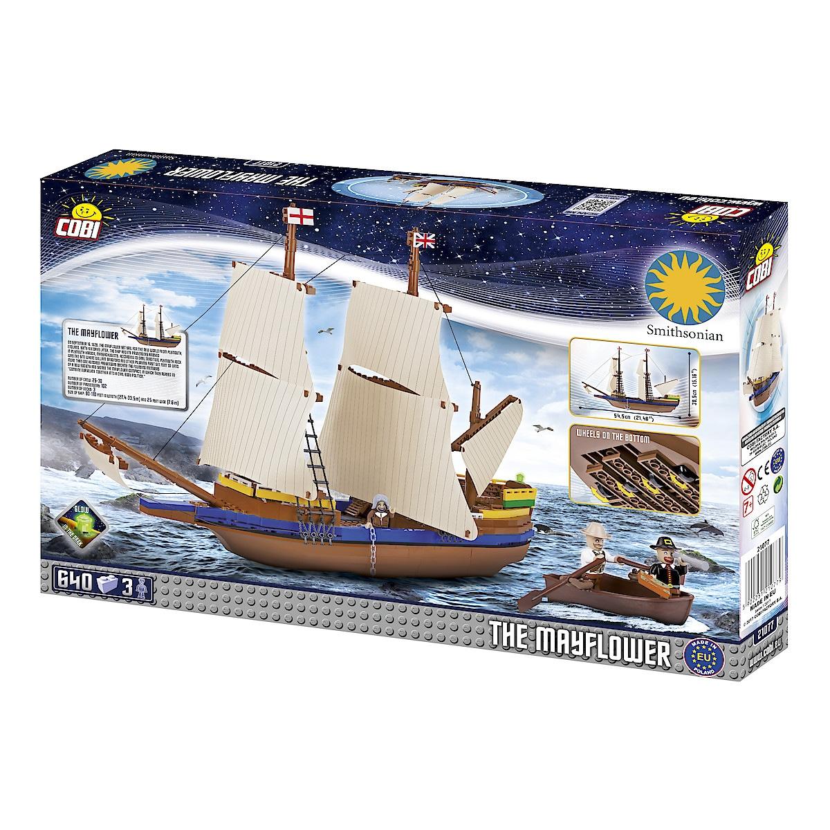 Cobi byggeklosser, skipet Mayflower
