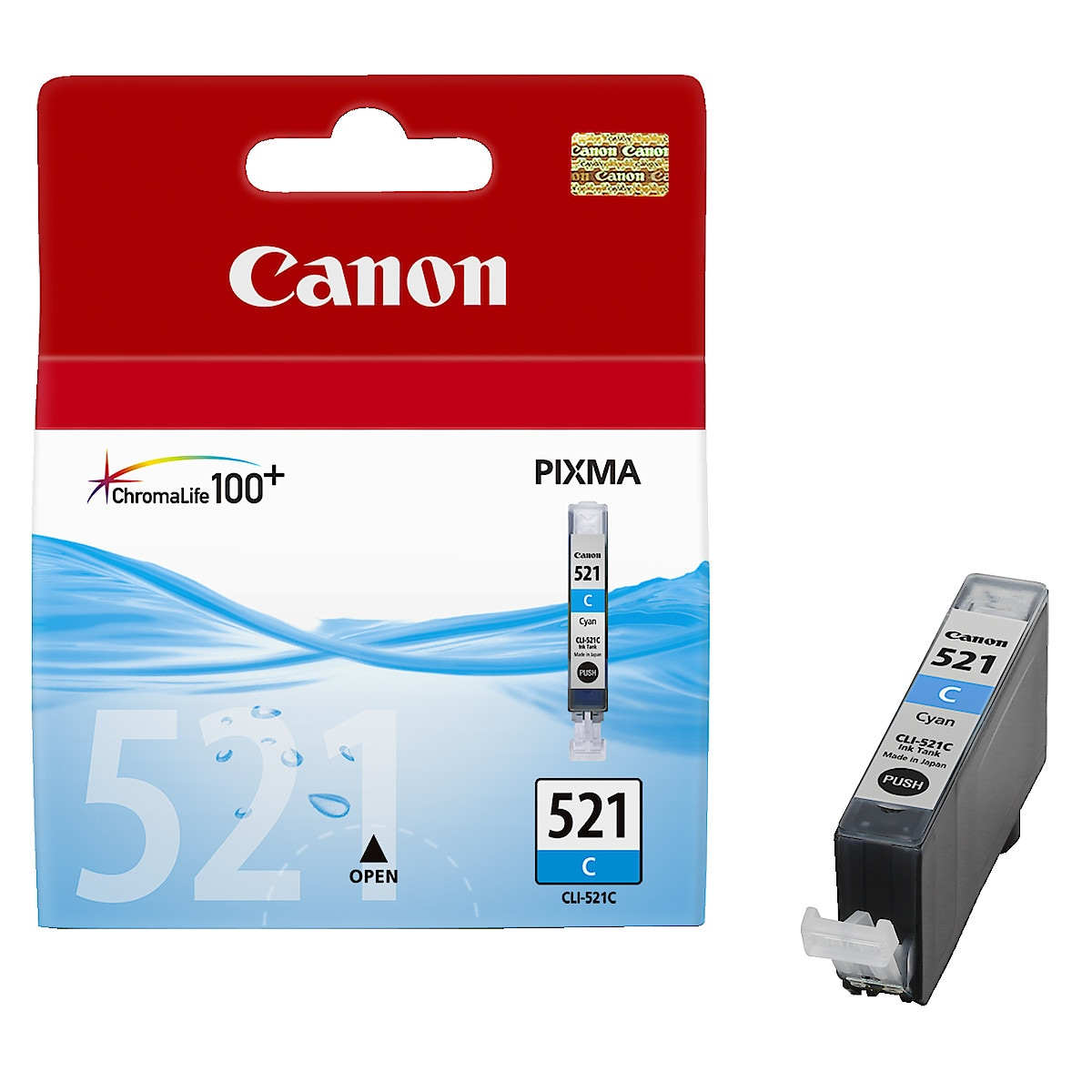 Mustepatruuna Canon PGI-520BK / CLI-521