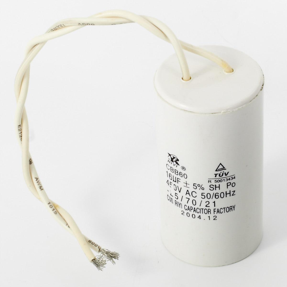 Kondensator 16 µF