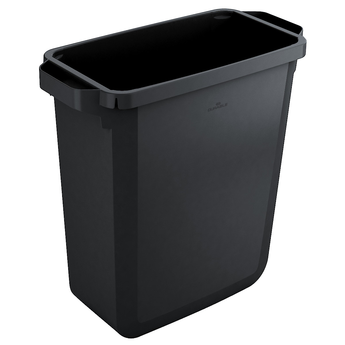Durabin 60 l søppeldunk, svart