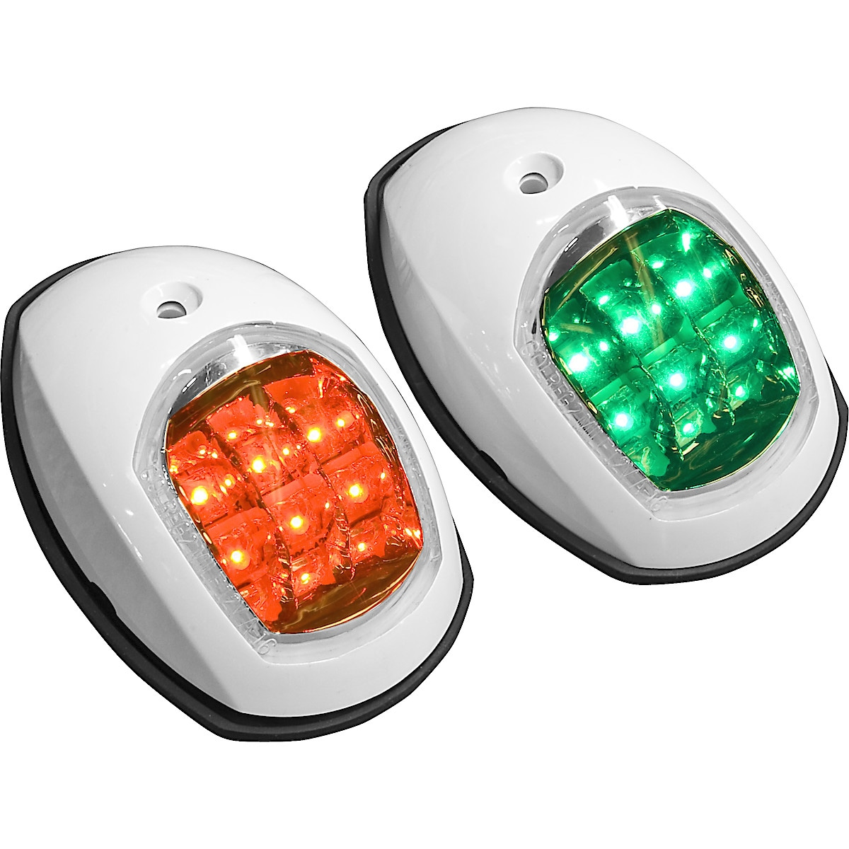 LED-lanternasats styrbord/babord