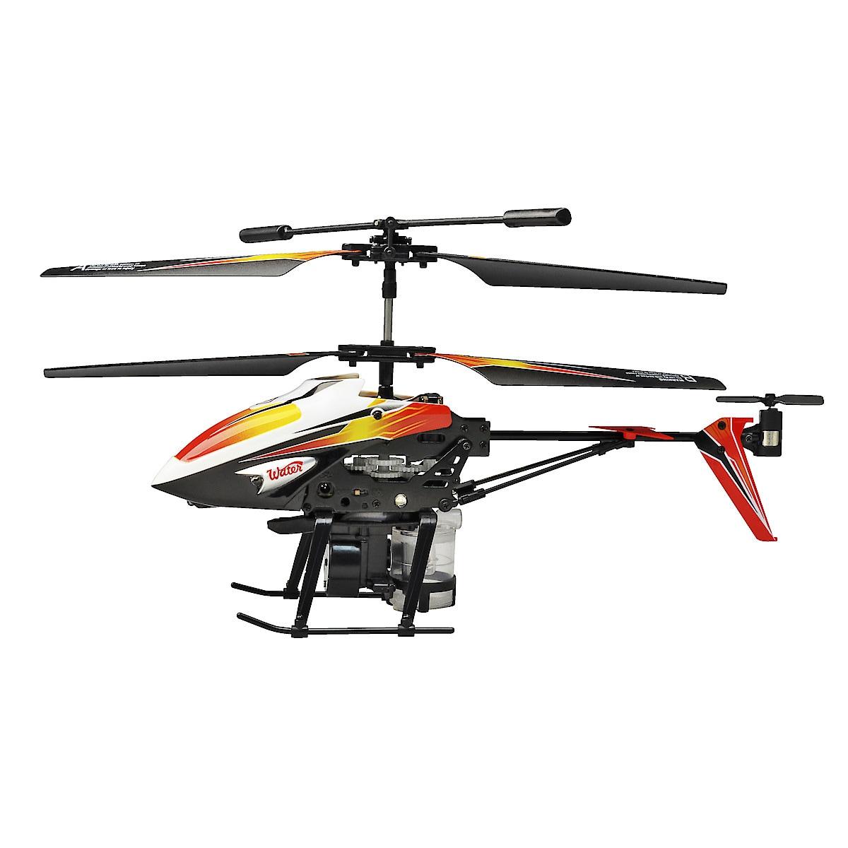 IR-styrt vannsprutende helikopter