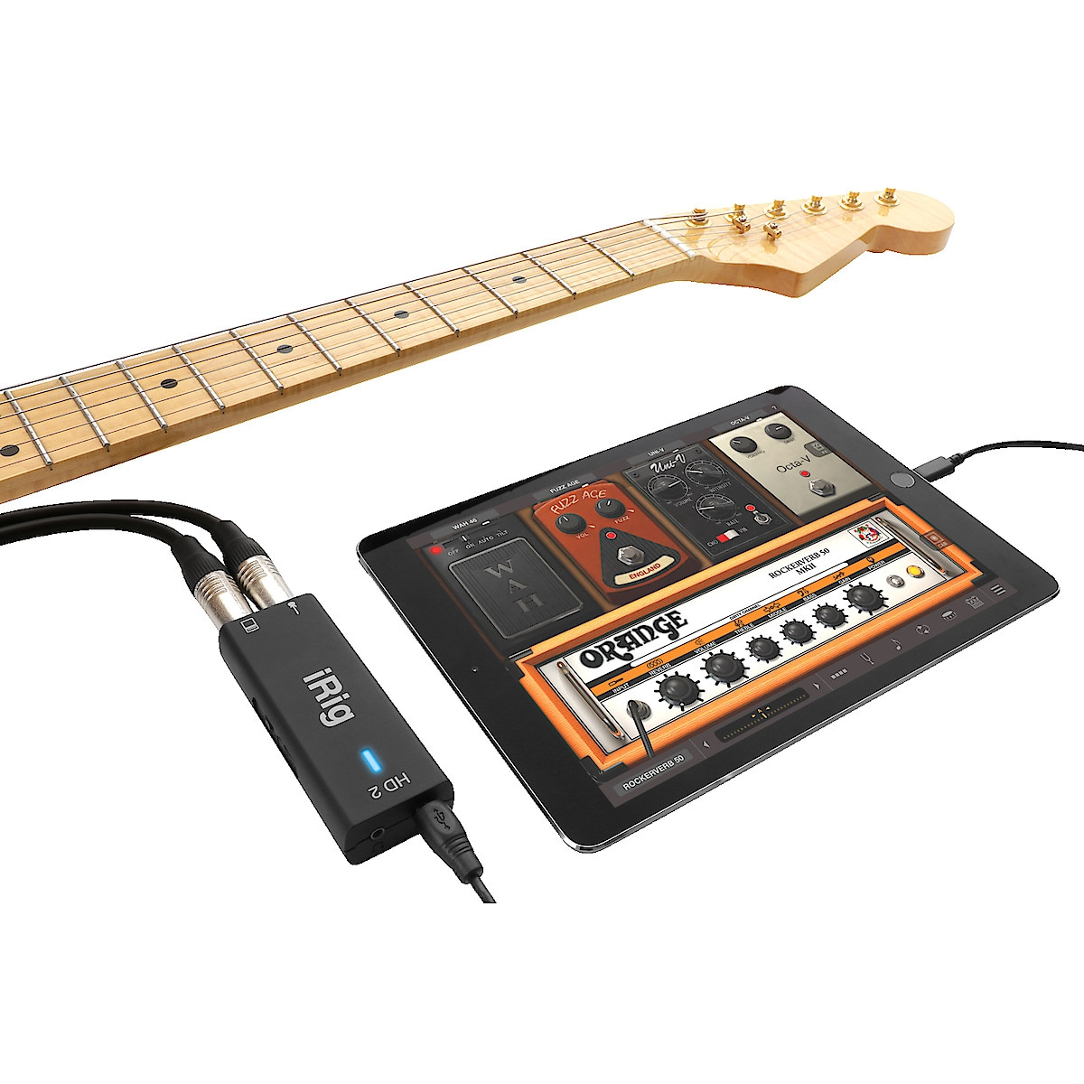 Gitarrinterface IK Multimedia iRig HD 2