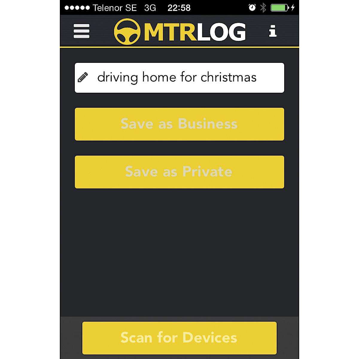 Elektroninen ajopäiväkirja MTRLOG Pro