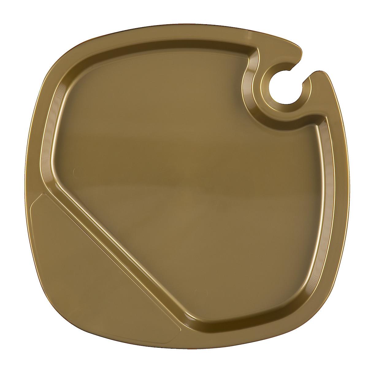 Mingeltallrik guld