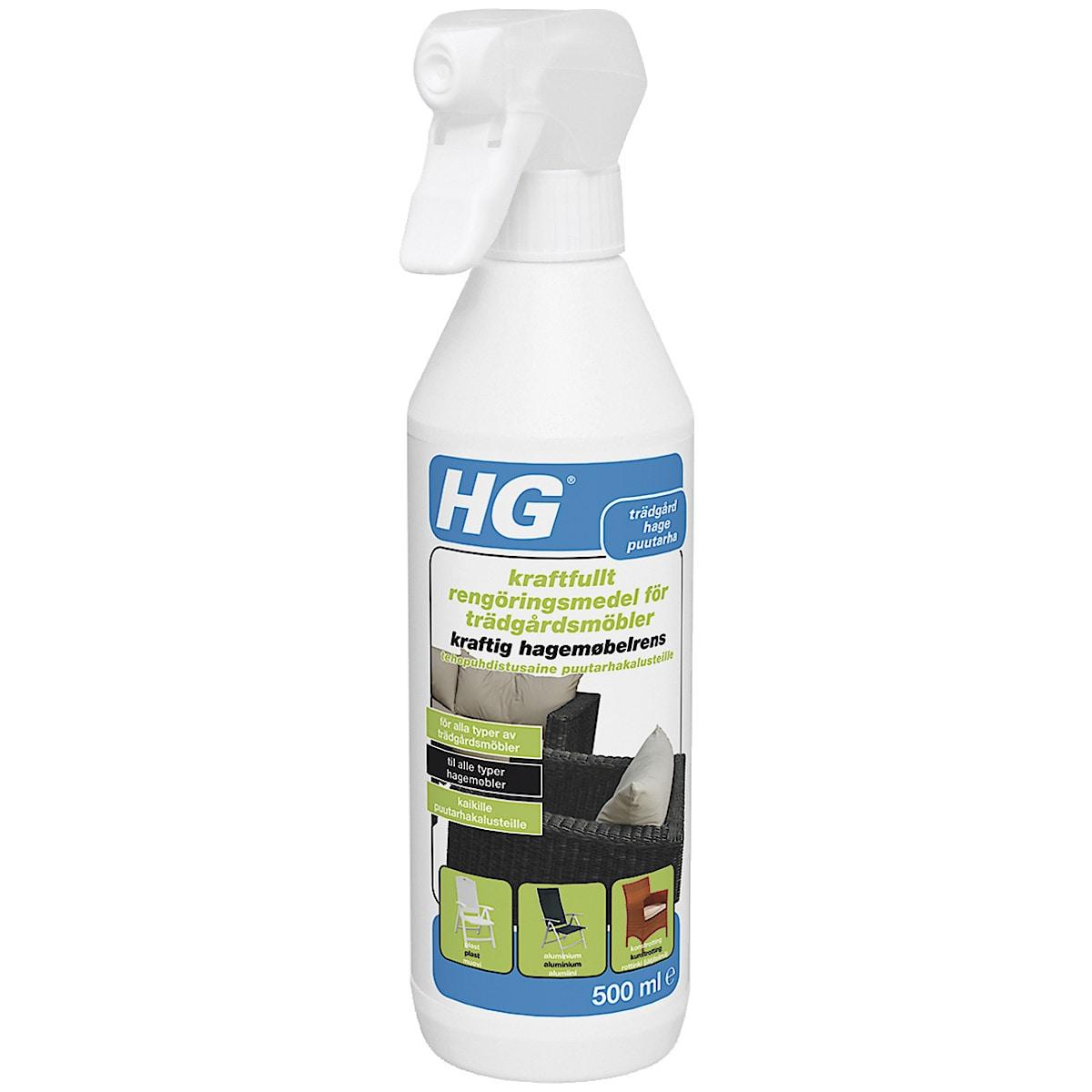 Rengöringsmedel för trädgårdsmöbler HG
