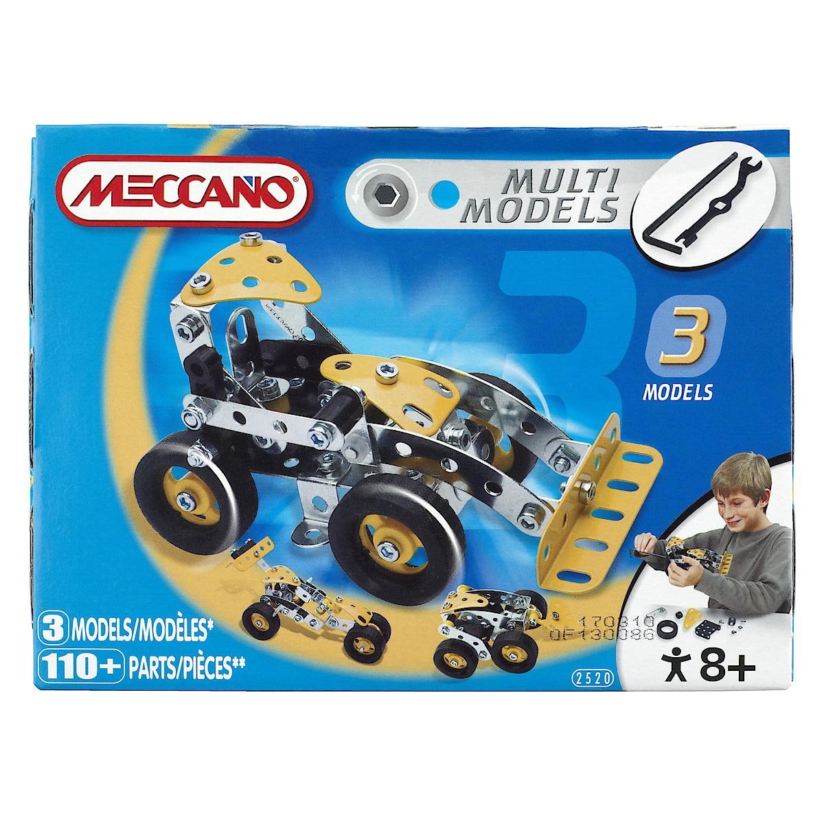 Meccano Tractor Multi-Model Set
