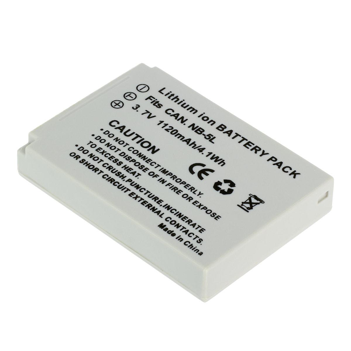 Batteri NB-5L för Canon