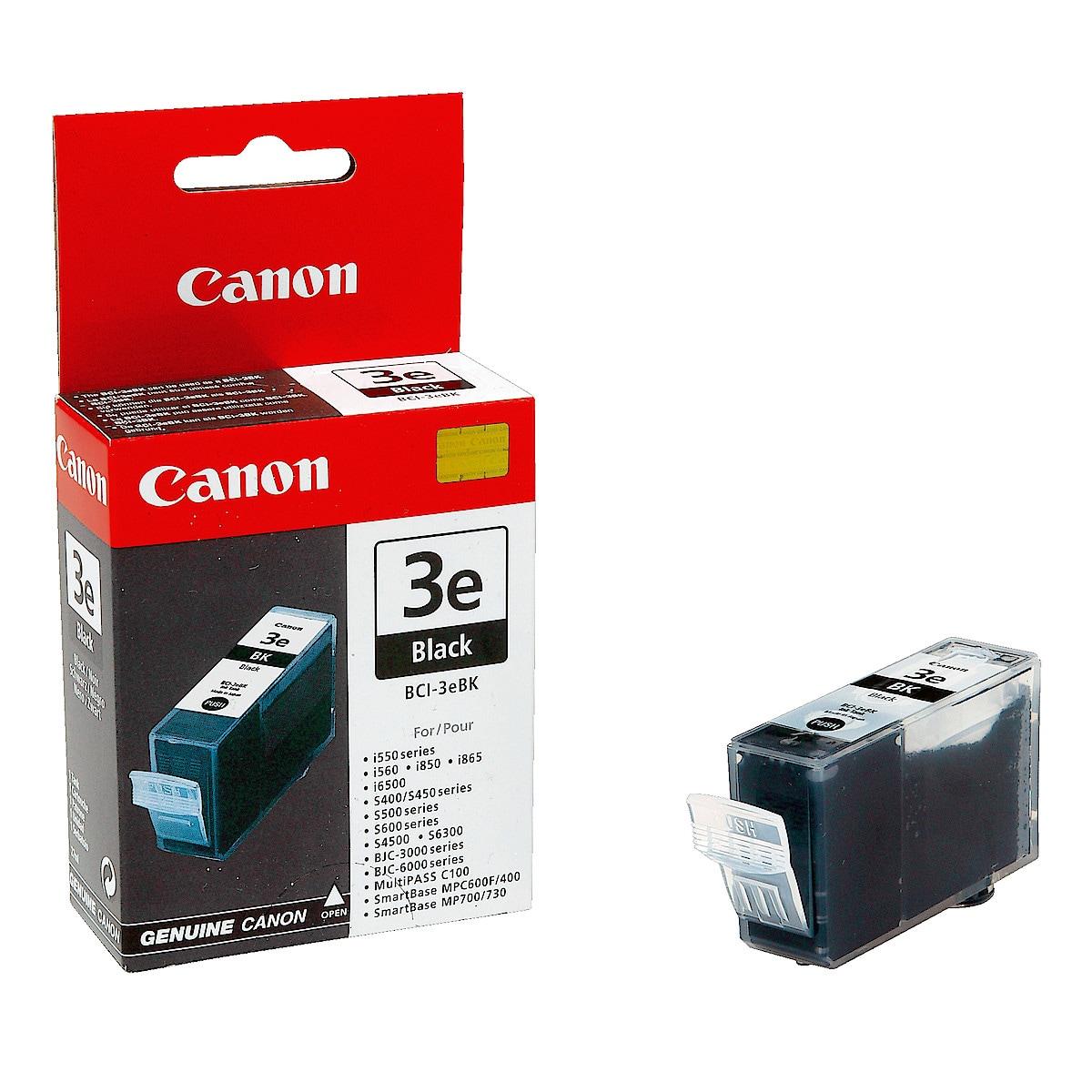 Mustepatruuna Canon BCI-3EBK