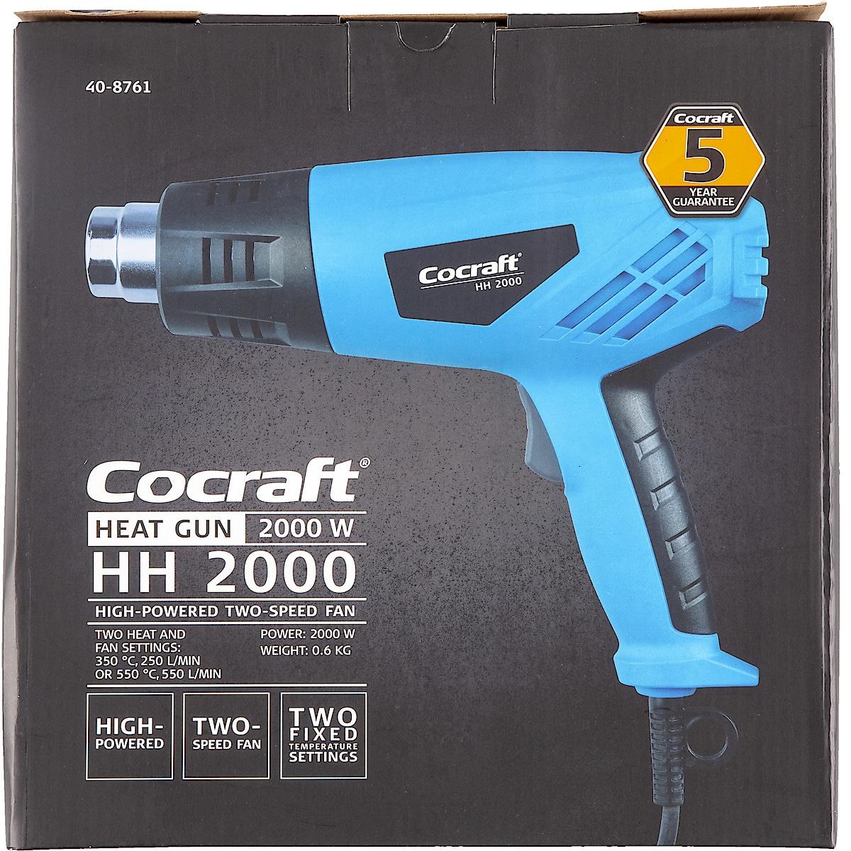 Kuumailmapuhallin Cocraft HH 2000