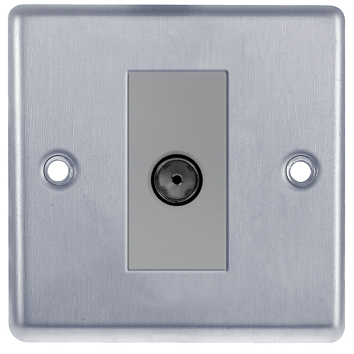 BG Stainless Steel Flat Plate Co-Axial Socket