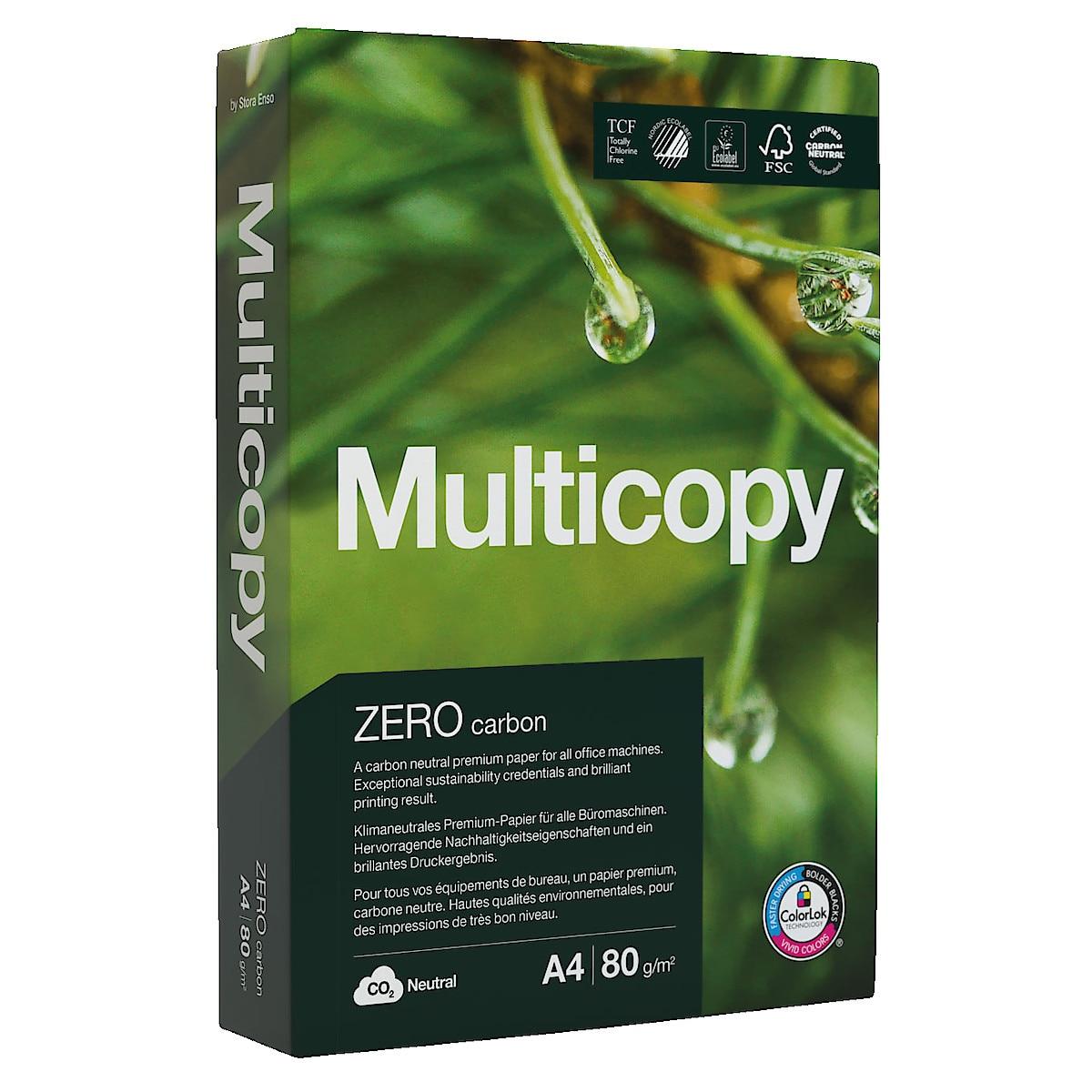 Skrivarpapper Multicopy Zero 80 g/m²