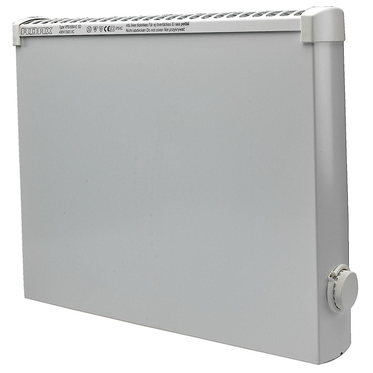Våtrumselement 400 W 400 V Adax VPS1004ET